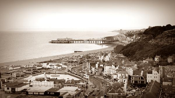 Hastings Print by Sharon Lisa Clarke