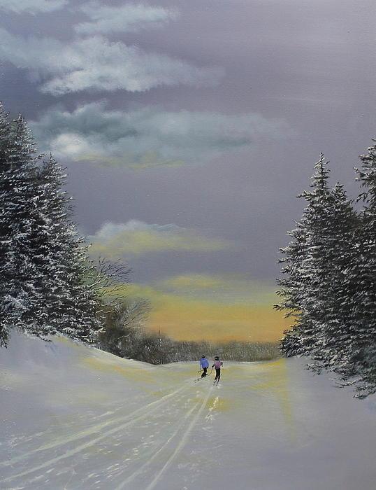 Heading Home Print by Ken Ahlering