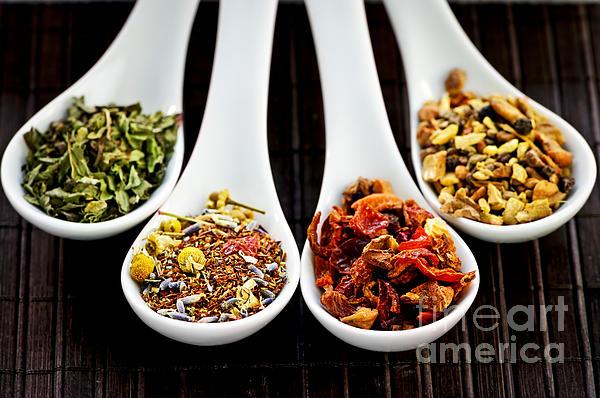 Herbal Teas Print by Elena Elisseeva