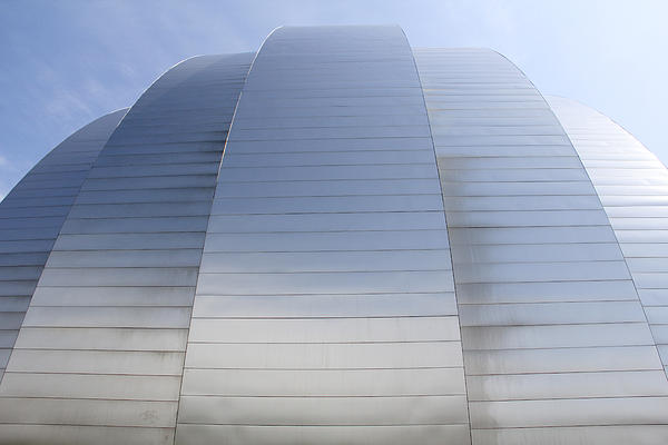 Kauffman Center For Performing Arts Print by Mike McGlothlen