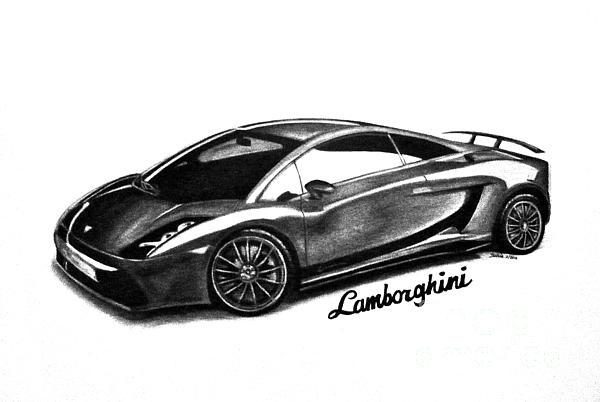 Teshia Art - Lamborghini