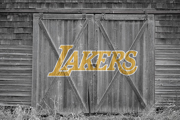 Los Angeles Lakers Print by Joe Hamilton