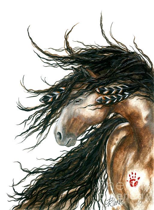Majestic Horse Series 80 Print by AmyLyn Bihrle
