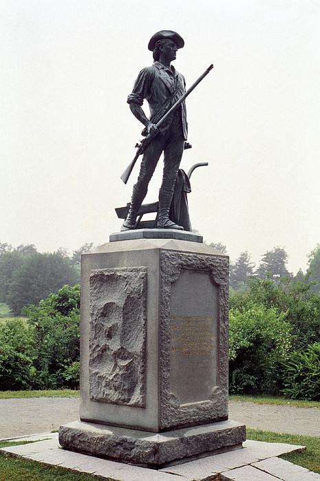 Minutemen Soldier Print by Granger
