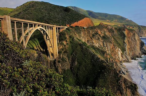 Pacific Coast Highway Print by Benjamin Yeager