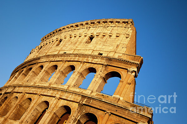 Roman Coliseum Print by Brian Jannsen