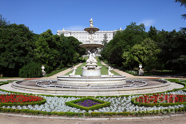 James Brunker - Royal Palace Gardens Madrid