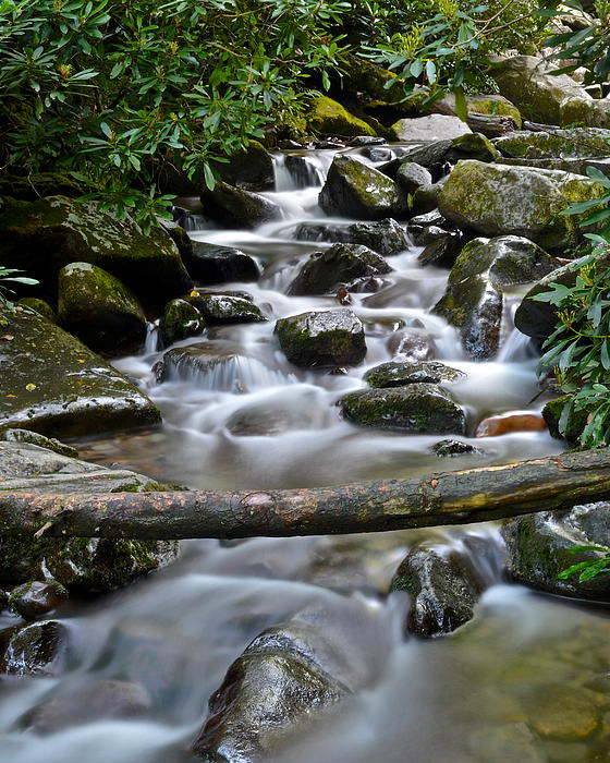 Scenic Cascade Print by Frozen in Time Fine Art Photography