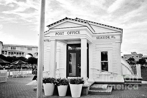 Seaside Post Office Print by Scott Pellegrin