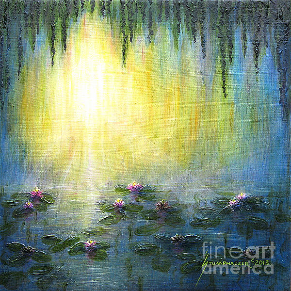 Jerome Stumphauzer - Sunrise With Water Lilies