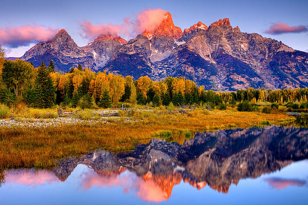 Aaron Whittemore - Tetons Reflection