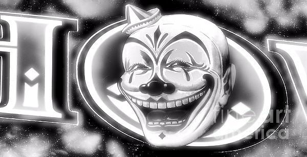 The Clown Wasn't Funny Print by Newel Hunter
