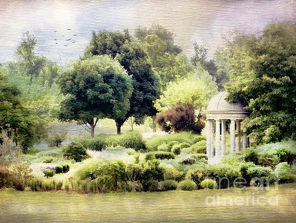 The Flower Garden Print by Darren Fisher