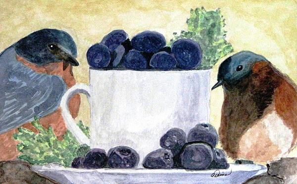 Angela Davies - The Temptation Of Blueberries