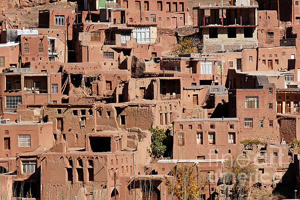 The Village Of Abyaneh In Iran Print by Robert Preston