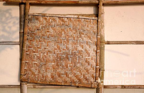 Traditional Chinese Bamboo Structure Print by Yali Shi