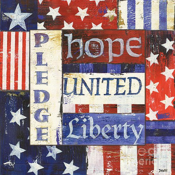 Usa Pride 1 Print by Debbie DeWitt