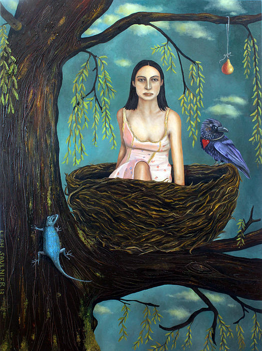 Weeping Willow Print by Leah Saulnier The Painting Maniac