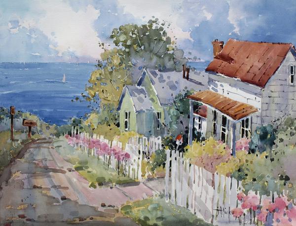 Westport By The Sea Print by Joyce Hicks