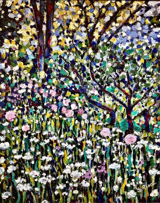 Wild Flowers Print by Yulonda Rios