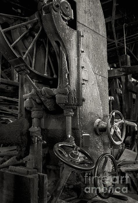 Wooden Sawmill Print by Setsiri Silapasuwanchai