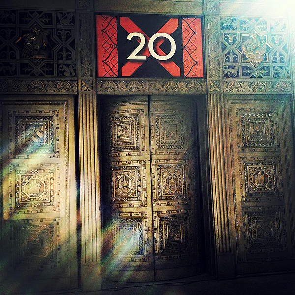 20 Exchange Place Art Deco Print by Natasha Marco