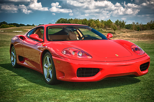 2001 Ferrari 360 Modena Photograph
