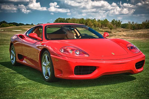 2001 Ferrari 360 Modena Photograph