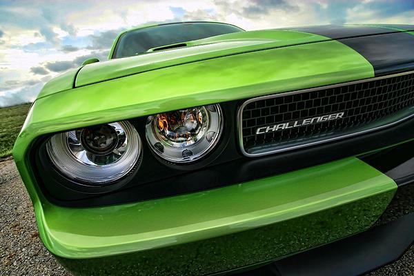 2011 Dodge Challenger Srt8 Green With Envy Print by Gordon Dean II