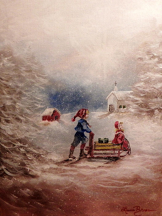 Laura Brown - 2012 Christmas Card