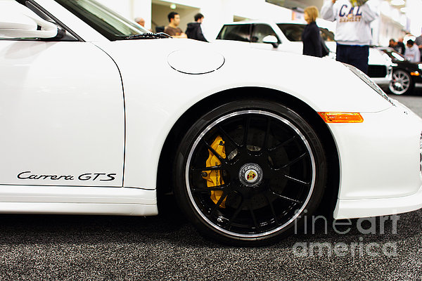 2012 Porsche 911 Carrera Gt 7d9630 Print by Wingsdomain Art and Photography