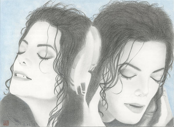 Michael Jackson Print by Eliza Lo