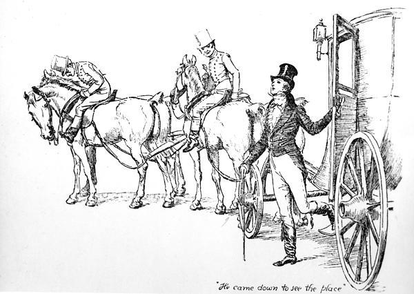 Scene From Pride And Prejudice By Jane Austen Print by Hugh Thomson
