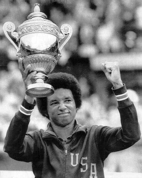 Arthur Ashe Print by Retro Images Archive