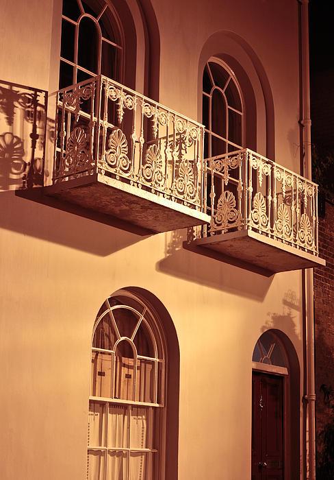 Balconies Print by Tom Gowanlock