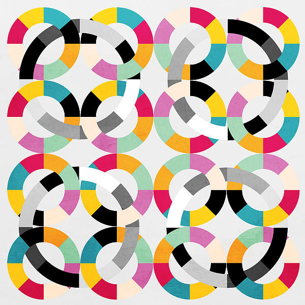 Geometric  Print by Mark Ashkenazi