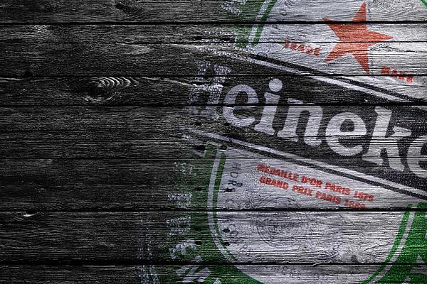 Heineken Print by Joe Hamilton
