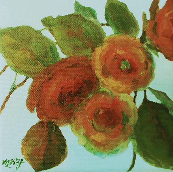 Mary Wolf - Impressionist Floral Painting