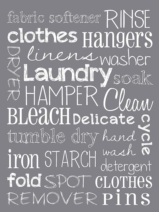 Laundry Room Print by Jaime Friedman