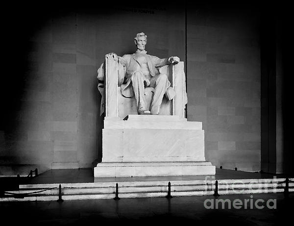 Lincoln Memorial Print by Lane Erickson