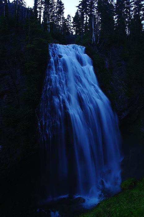 Narada Falls Print by Jeff  Swan