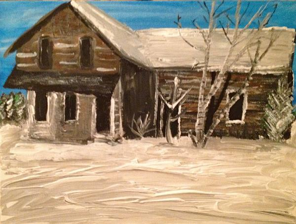 Old House Print by Paula Brown