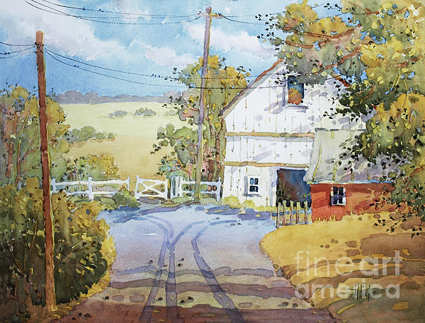Peaceful In Pennsylvania Print by Joyce Hicks