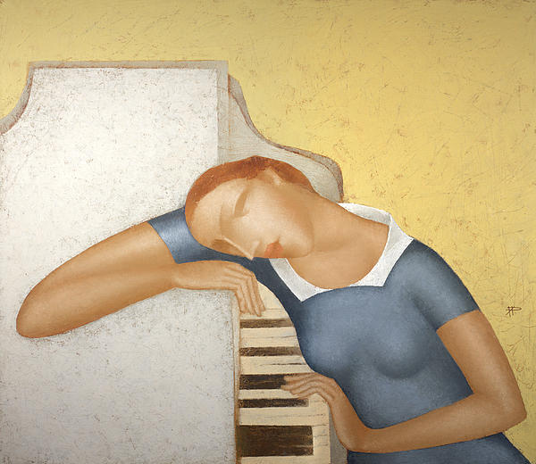 Piano Print by Nicolay  Reznichenko