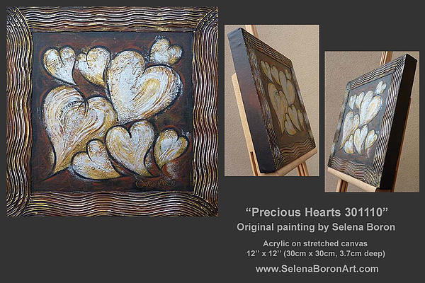 Precious Hearts 301110 Print by Selena Boron