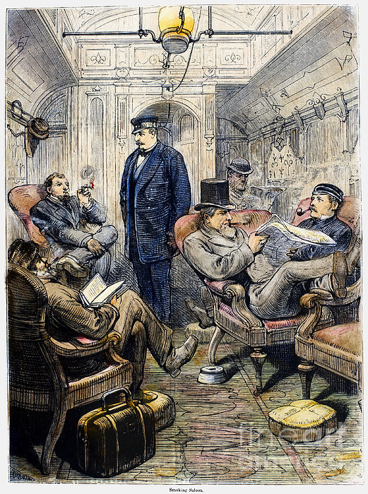 Pullman Car, 1876 Print by Granger