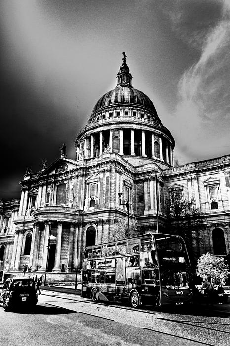 St Pauls Cathedral London Art Print by David Pyatt