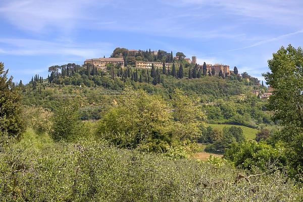 Tuscany - Montepulciano Print by Joana Kruse