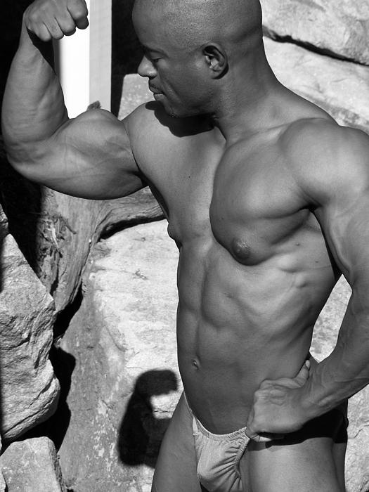 The Art Of Muscle Print by Jake Hartz