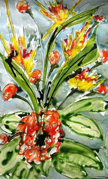 Baljit Chadha - Heavenly Flowers